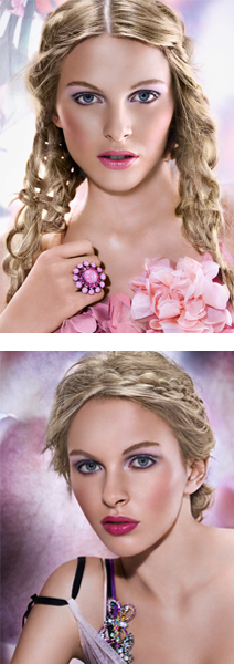 Flower Power  - The make-up for cool seasons